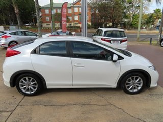 2012 Honda Civic VTi-S White 6 Speed Manual Hatchback.