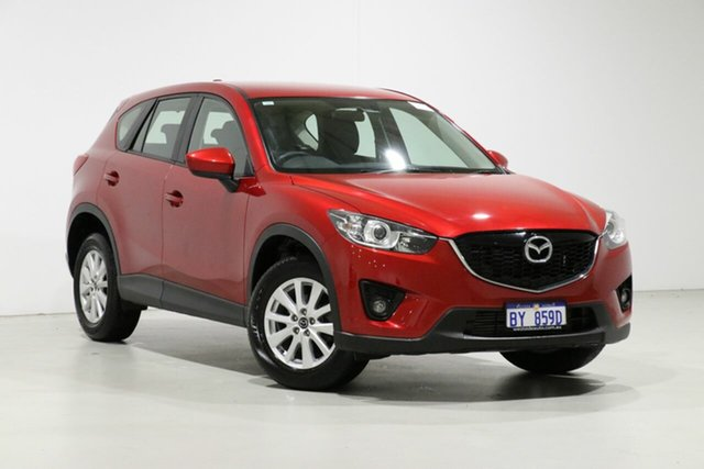 Used Mazda CX-5 MY13 Maxx Sport (4x2), 2013 Mazda CX-5 MY13 Maxx Sport (4x2) Red 6 Speed Automatic Wagon