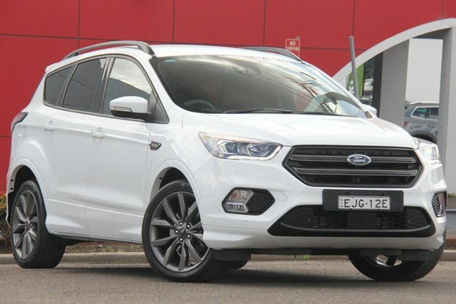 Used Ford Escape ZG 2019.25MY ST-Line, 2019 Ford Escape ZG 2019.25MY ST-Line White 6 Speed Sports Automatic Wagon