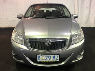2010 Holden Barina TK MY10 Grey 4 Speed Automatic Hatchback.