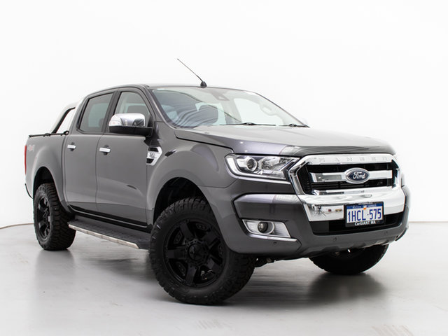 Used Ford Ranger PX MkII MY17 XLT 3.2 (4x4), 2017 Ford Ranger PX MkII MY17 XLT 3.2 (4x4) Grey 6 Speed Automatic Double Cab Pick Up