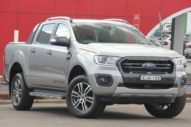 Used Ford Ranger PX MkIII 2019.00MY Wildtrak, 2019 Ford Ranger PX MkIII 2019.00MY Wildtrak Silver 6 Speed Manual Double Cab Pick Up