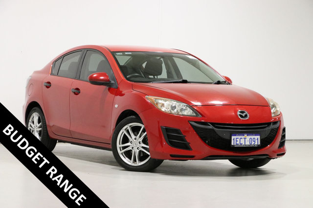 Used Mazda 3 BL Maxx, 2009 Mazda 3 BL Maxx Red 6 Speed Manual Sedan