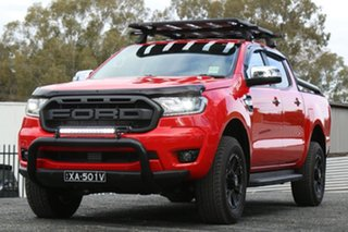 2020 Ford Ranger PX MkIII 2020.25MY XLT Red 10 Speed Sports Automatic Double Cab Pick Up.