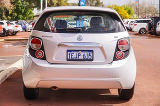 2013 Holden Barina TM MY13 CD Silver 6 Speed Automatic Hatchback