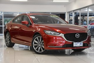 2019 Mazda 6 GL1033 GT SKYACTIV-Drive Red 6 Speed Sports Automatic Sedan.