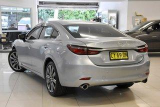 2018 Mazda 6 GL1031 Atenza SKYACTIV-Drive Silver 6 Speed Sports Automatic Sedan.