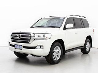 2020 Toyota Landcruiser VDJ200R LC200 VX (4x4) White 6 Speed Automatic Wagon.