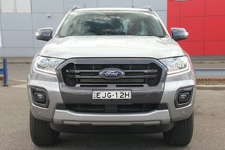 2019 Ford Ranger PX MkIII 2019.75MY Wildtrak Silver 10 Speed Sports Automatic Double Cab Pick Up