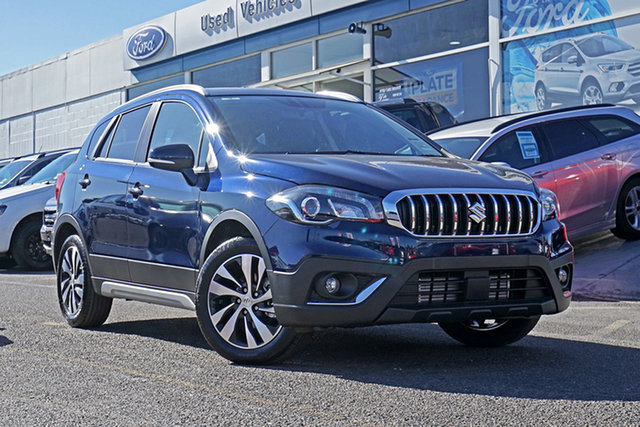Demo Suzuki S-Cross JY Turbo Springwood, 2019 Suzuki S-Cross JY Turbo Blue 6 Speed Sports Automatic Hatchback