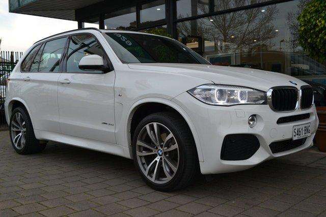 Used BMW X5 F15 xDrive30d, 2015 BMW X5 F15 xDrive30d White 8 Speed Sports Automatic Wagon