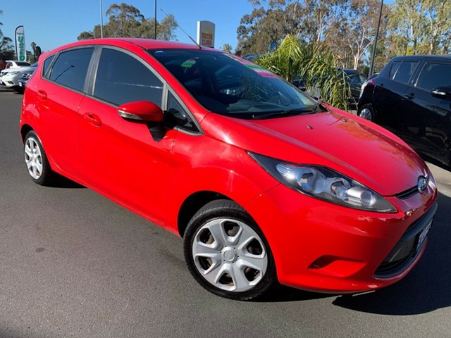 Used Ford Fiesta WS CL, 2009 Ford Fiesta WS CL Red 5 Speed Manual Hatchback