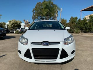 2015 Ford Focus LW MkII MY14 Ambiente PwrShift White 6 Speed Sports Automatic Dual Clutch Sedan
