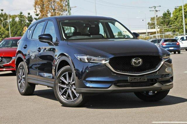 New Mazda CX-5 KF4WLA GT SKYACTIV-Drive i-ACTIV AWD, 2020 Mazda CX-5 KF4WLA GT SKYACTIV-Drive i-ACTIV AWD Deep Crystal Blue 6 Speed Sports Automatic