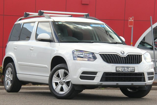 Used Skoda Yeti 5L MY14 77TSI Active, 2014 Skoda Yeti 5L MY14 77TSI Active White 6 Speed Manual Wagon