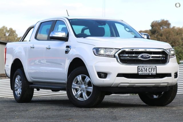 Demo Ford Ranger PX MkIII 2020.75MY XLT, 2020 Ford Ranger PX MkIII 2020.75MY XLT White 6 Speed Sports Automatic Double Cab Pick Up
