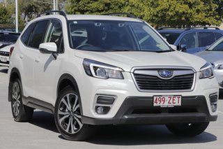 2019 Subaru Forester S5 MY20 2.5i Premium CVT AWD White Crystal 7 Speed Constant Variable Wagon.
