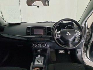 2014 Mitsubishi Lancer CJ MY14.5 GSR Sportback Silver 6 Speed Constant Variable Hatchback