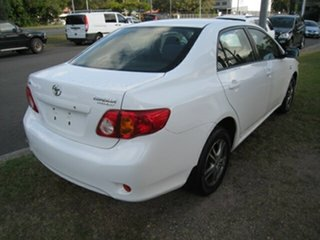 2007 Toyota Corolla ZRE152R Ascent White 4 Speed Automatic Sedan