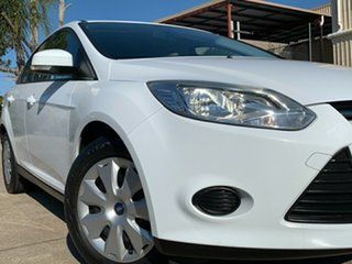 2015 Ford Focus LW MkII MY14 Ambiente PwrShift White 6 Speed Sports Automatic Dual Clutch Sedan.