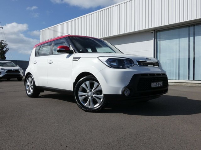 Used Kia Soul PS MY15 SI, 2015 Kia Soul PS MY15 SI White 6 Speed Sports Automatic Hatchback