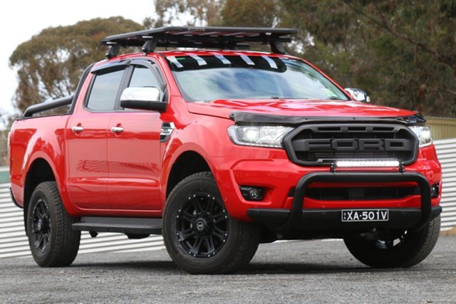 Demo Ford Ranger PX MkIII 2020.25MY XLT, 2020 Ford Ranger PX MkIII 2020.25MY XLT Red 10 Speed Sports Automatic Double Cab Pick Up