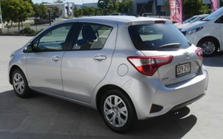 2017 Toyota Yaris NCP130R Ascent Silver 5 Speed Manual Hatchback