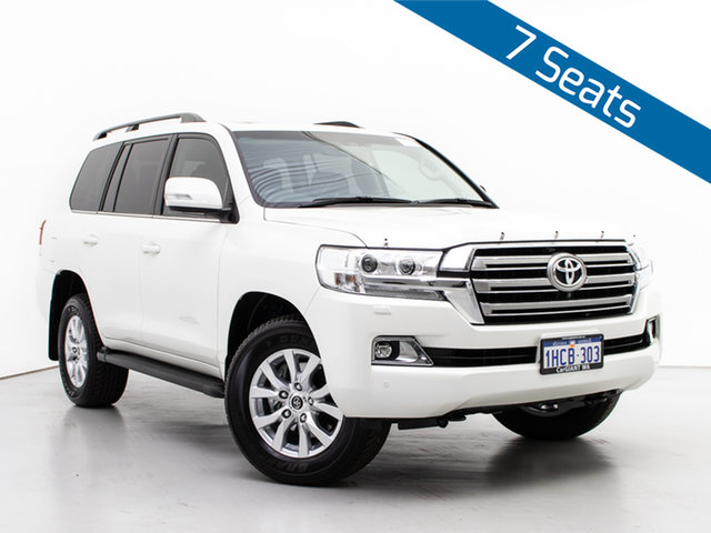 Used Toyota Landcruiser VDJ200R LC200 VX (4x4), 2020 Toyota Landcruiser VDJ200R LC200 VX (4x4) White 6 Speed Automatic Wagon
