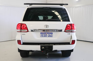 2009 Toyota Landcruiser VDJ200R GXL White 6 Speed Sports Automatic Wagon
