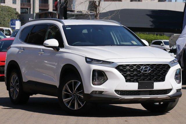 New Hyundai Santa Fe TM.2 MY20 Active X Nunawading, 2020 Hyundai Santa Fe TM.2 MY20 Active X White Cream 8 Speed Sports Automatic Wagon