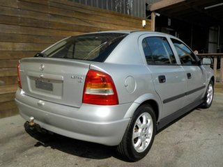 2002 Holden Astra TS Equipe City Silver 5 Speed Manual Hatchback.
