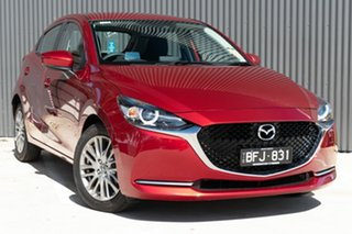 2020 Mazda 2 DJ2HAA G15 SKYACTIV-Drive Pure Soul Red Crystal 6 Speed Sports Automatic Hatchback.