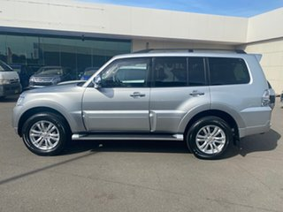 2018 Mitsubishi Pajero NX MY19 GLS Silver 5 Speed Sports Automatic Wagon.