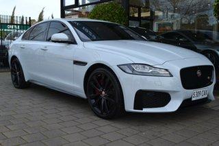 2016 Jaguar XF X260 MY16 30d S White 8 Speed Sports Automatic Sedan.