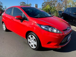 2009 Ford Fiesta WS CL Red 5 Speed Manual Hatchback