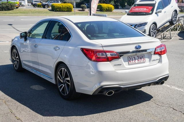 Used Subaru Liberty B6 MY18 3.6R CVT AWD, 2018 Subaru Liberty B6 MY18 3.6R CVT AWD White 6 Speed Constant Variable Sedan