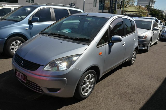Used Mitsubishi Colt RG MY08 ES Toowoomba, 2008 Mitsubishi Colt RG MY08 ES Silver Continuous Variable Hatchback