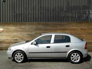 2002 Holden Astra TS Equipe City Silver 5 Speed Manual Hatchback