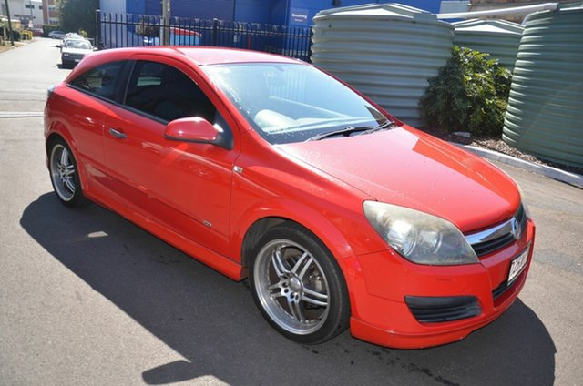 Used Holden Astra AH MY07 CD Toowoomba, 2006 Holden Astra AH MY07 CD Red 5 Speed Manual Coupe
