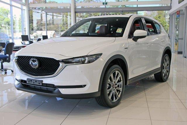 New Mazda CX-5 KF4WLA 100th Anniversary SKYACTIV-Drive i-ACTIV AWD, 2020 Mazda CX-5 KF4WLA 100th Anniversary SKYACTIV-Drive i-ACTIV AWD Snowflake White Pearl 6 Speed