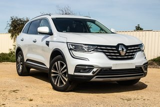 2019 Renault Koleos HZG MY20 Zen X-tronic White 1 Speed Constant Variable Wagon.