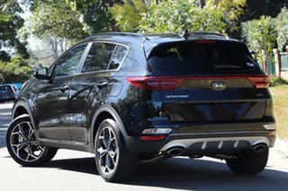 2020 Kia Sportage QL MY21 GT-Line AWD Black Cherry 6 Speed Sports Automatic Wagon.