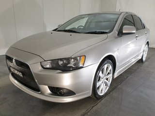 2014 Mitsubishi Lancer CJ MY14.5 GSR Sportback Silver 6 Speed Constant Variable Hatchback.