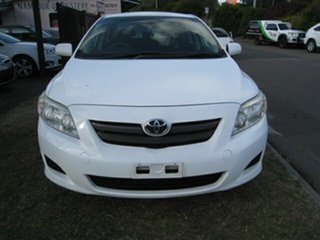 2007 Toyota Corolla ZRE152R Ascent White 4 Speed Automatic Sedan.