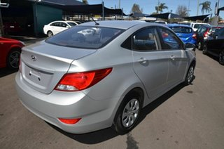 2015 Hyundai Accent RB2 MY15 Active Silver 4 Speed Automatic Sedan