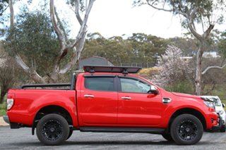 2020 Ford Ranger PX MkIII 2020.25MY XLT Red 10 Speed Sports Automatic Double Cab Pick Up