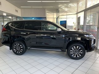 2020 Mitsubishi Pajero Sport QF MY20 GLS Pitch Black 8 Speed Sports Automatic Wagon
