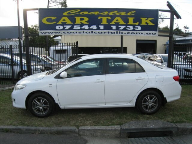 Used Toyota Corolla ZRE152R Ascent, 2007 Toyota Corolla ZRE152R Ascent White 4 Speed Automatic Sedan