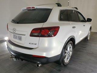 2013 Mazda CX-9 TB10A5 Luxury Activematic White 6 Speed Sports Automatic Wagon