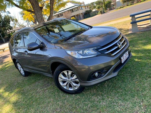 Used Honda CR-V RM VTi 4WD Moree, 2013 Honda CR-V RM VTi 4WD Urban Titanium 5 Speed Automatic Wagon